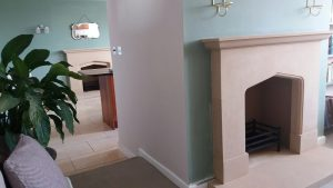 country stone fireplace designs
