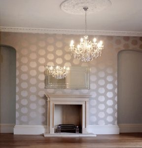traditional stone fireplaces
