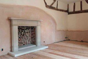 Bath stone fireplaces near Bath