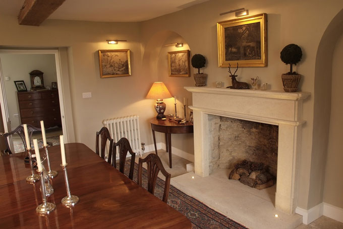 Large Bath Stone Fireplace Pinckney Green Stoneworks