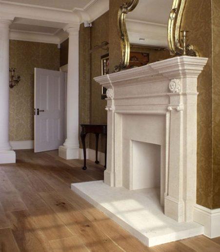 Decorative stone fireplace Pinckney Green