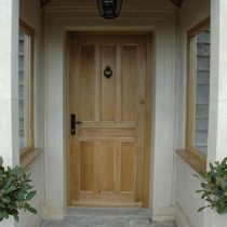 oak wooden doors