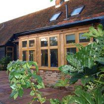 Oak window surrounds