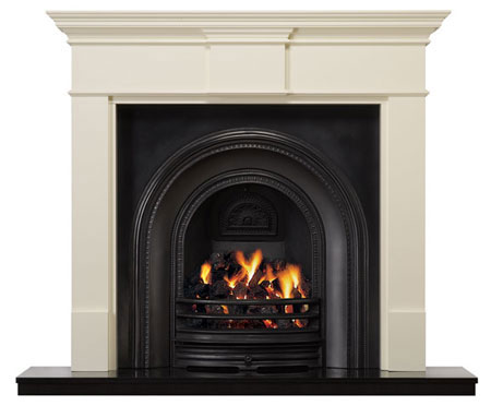 Wooden fireplace|Pinckney Green