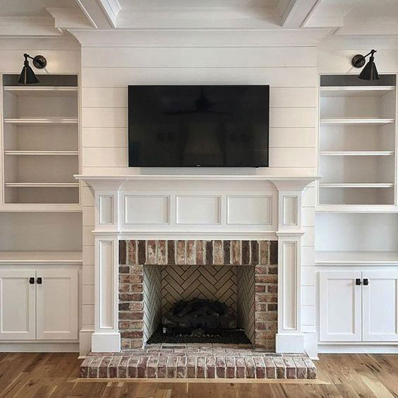 Wooden fire surround by pinckney green fireplaces for Wood fireplace surround designs