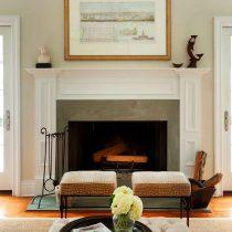 wooden fireplace|Pinckney Green