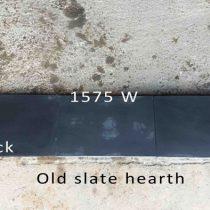 old slate hearth