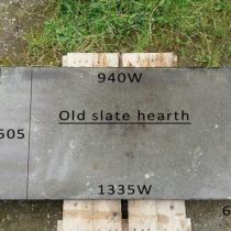 old slate hearth|Pinckney Green