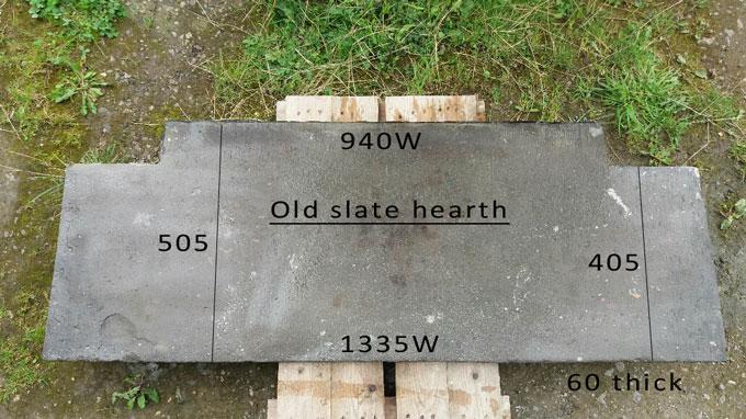 old slate hearth|Pinckney Green