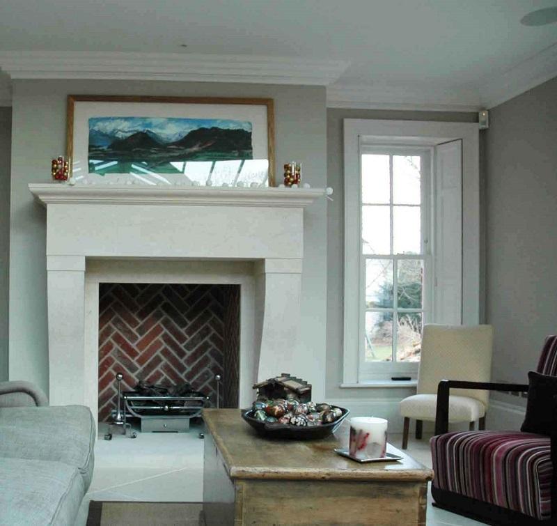 French fireplace|Pinckney Green