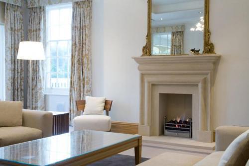 Bolection style fireplace